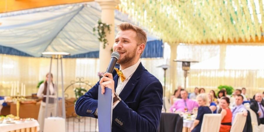 Денис Шелобнев ведущий на свадьбу в городе Минск, фото, отзывы - Ведущие. by